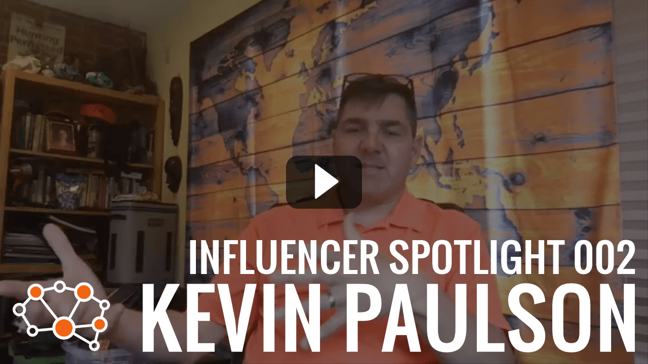 KEVIN PAULSON Influencer Spotlight