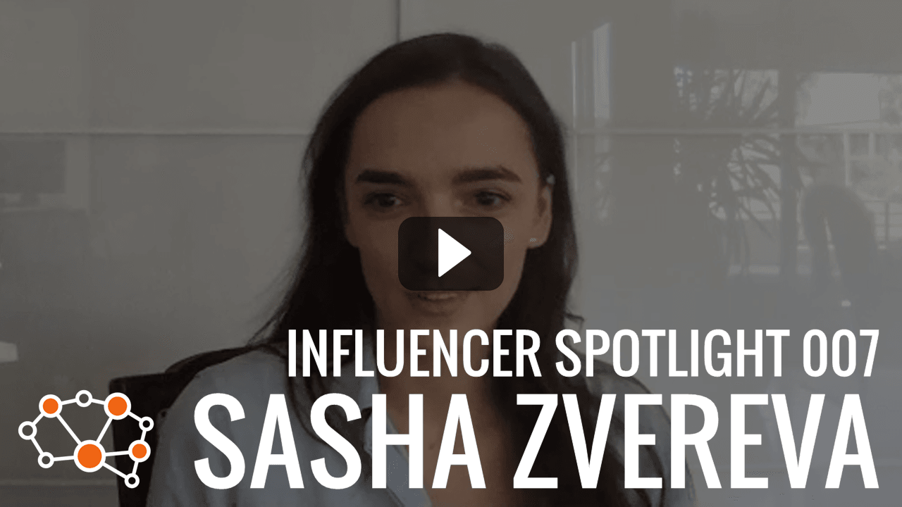 SASHA ZVEREVA Influencer Spotlight