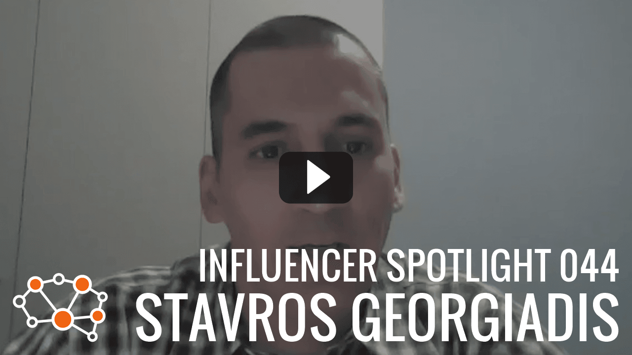 STAVROS GEORGIADIS Influencer Spotlight